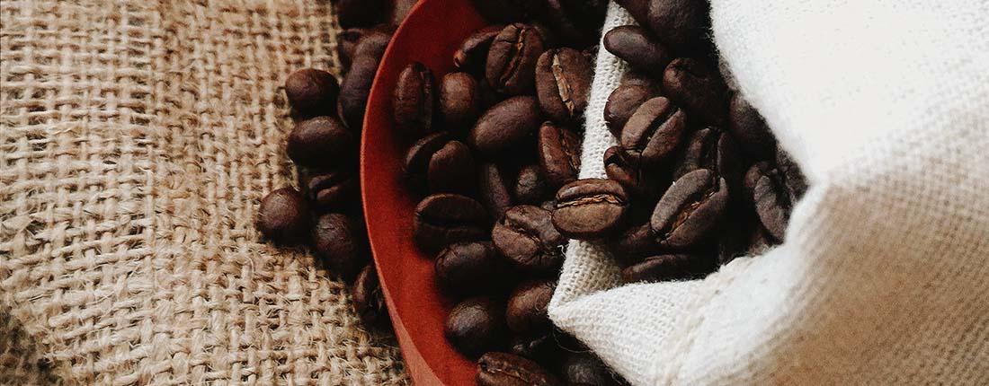 grãos de cafés especiais