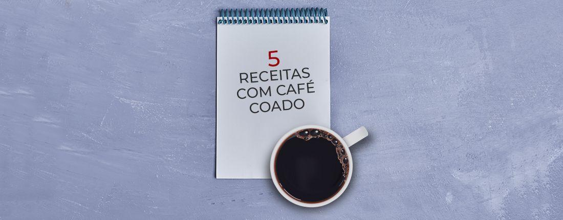 receita de café com café coado